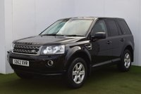2012 LAND ROVER FREELANDER 2.2 TD4 GS 5d 150 BHP £11495.00