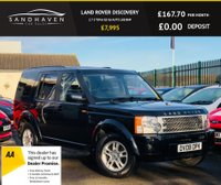 USED 2008 08 LAND ROVER DISCOVERY 2.7 3 TDV6 GS 5d AUTO 188 BHP 7 SEAT 4X4