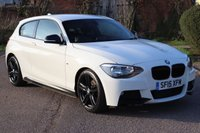 2015 BMW 1 SERIES 2.0 125D M SPORT 3d 215 BHP £15495.00