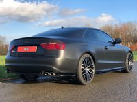 USED 2008 58 AUDI A5 4.2 S5 FSI QUATTRO AUTO 354 BHP 3DR COUPE (WRAPPED) WRAPPED* BANG &OLUFSEN * FSH