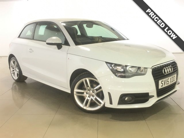 View our 2015 15 AUDI A1 1.6 TDI S LINE 3d 105 BHP