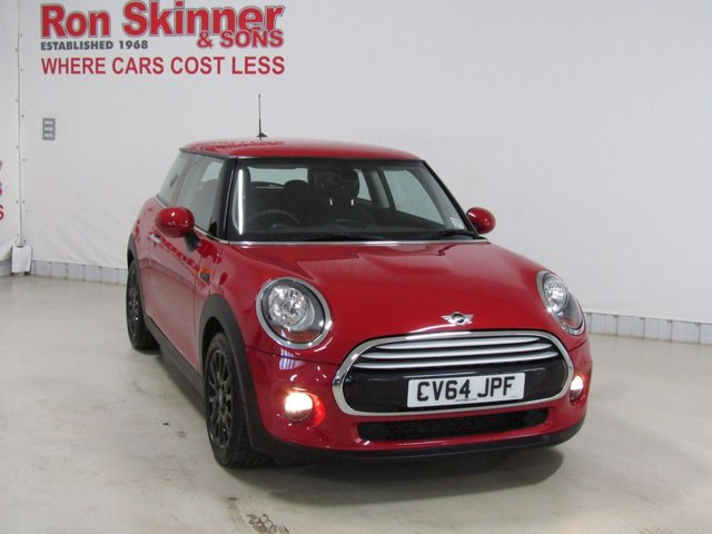 View our 2014 64 MINI HATCH COOPER 1.5 COOPER 3d 134 BHP with Black Alloys