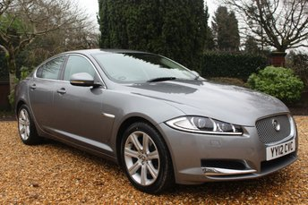 2012 JAGUAR XF 2.2 D LUXURY 4d AUTO 190 BHP £9489.00