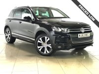 USED 2013 63 VOLKSWAGEN TOUAREG 3.0 V6 R-LINE TDI BLUEMOTION TECHNOLOGY 5d AUTO 242 BHP Panoramic Roof/Sat Nav/Leather