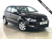 USED 2014 14 VOLKSWAGEN POLO 1.4 MATCH EDITION 5d 83 BHP 15 Alloy Wheels/Air Con