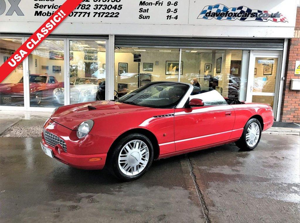 2002 Ford Thunderbird 3 9 2 Door Auto £13,975