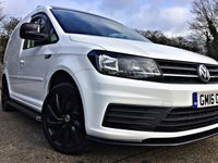 USED 2016 16 VOLKSWAGEN CADDY 2.0 C20 TDI STARTLINE 101 BHP EURO 6 HIGH SPEC, 1 OWNER,