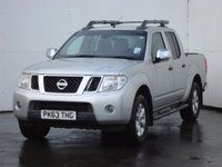 USED 2013 63 NISSAN NAVARA 2.5 DCI TEKNA 4X4 SHR DCB 1d 188 BHP FULLY LOADED, ONE OWNER, FULL NISSAN SERVICE HISTORY, FULL ARMADILLO PICKUP COVER, FULL LEATHER TRIM WITH HEATED SEATS, REVERSING CAMERA, SATELLITE NAVIGATION, BLUETOOTH PHONE PREP.