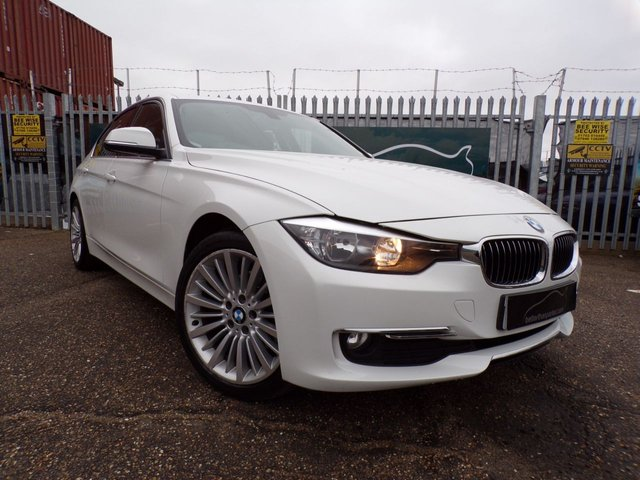 2013 13 BMW 3 SERIES 2.0 320D LUXURY 4d 184 BHP 1 OWNER 58,000 MILES