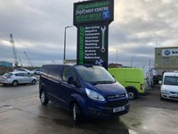 2015 FORD TRANSIT CUSTOM 2.2 270 LIMITED LR P/V 1d 124 BHP £13895.00