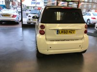 USED 2010 60 SMART FORTWO CABRIO 0.8 PASSION CDI 2d 54 BHP FULL LEATHER HEATED SEATS, BLUETOOTH, NEW 12 MONTH MOT.