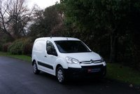 USED 2010 60 CITROEN BERLINGO 1.6 625 LX L1 16V 1d 90 BHP