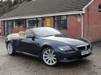 2007 BMW 6 SERIES 635D SPORT (£2,830 OF EXTRAS) AUTO 2dr £7990.00