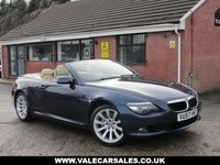 USED 2007 57 BMW 6 SERIES 635D SPORT (£2,830 OF EXTRAS) AUTO 2dr HUGE SPEC WITH OVER £2,800 OF EXTRAS / FULL SERVICE HISTORY