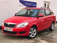 USED 2012 62 SKODA FABIA 1.2 SE TSI DSG 5d AUTO 103 BHP