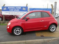 USED 2010 10 FIAT 500 1.2 S 3d 69 BHP 8 Stamps Of Service History .£30 Yearly Road Tax. New MOT & Full Service Done on purchase + 2 Years FREE Mot & Service Included After . 3 Months Russell Ham Quality Warranty . All Car's Are HPI Clear . Finance Arranged - Credit Card's Accepted . for more cars www.russellham.co.uk  Spare Key & Owners Book Pack.