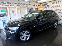 2012 BMW X1 2.0 XDRIVE18D M SPORT 5d 141 BHP £9995.00