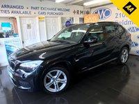 USED 2012 12 BMW X1 2.0 XDRIVE18D M SPORT 5d 141 BHP