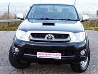 USED 2010 60 TOYOTA HI-LUX 3.0 INVINCIBLE 4X4 D-4D DCB 1d AUTO 169 BHP