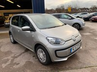 USED 2014 14 VOLKSWAGEN UP 1.0 MOVE UP 5d 59 BHP ONLY £20 PER YEAR ROAD TAX