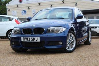 2013 BMW 1 SERIES 2.0 120D M SPORT 2d AUTO 175 BHP £10250.00