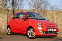 2016 FIAT 500 1.2 LOUNGE 3d 69 BHP £8000.00