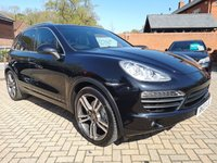 USED 2013 13 PORSCHE CAYENNE 4.1 D V8 S TIPTRONIC S 5d AUTO 382 BHP FPSH+Pan Roof+Nav+Heated Seats