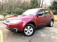 2012 SUBARU FORESTER 2.0 D X 5d AWD, 2 FORMER KEEPERS, 7 SERVICES, HTD SEATS  £5990.00