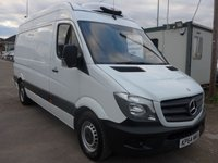 USED 2014 64 MERCEDES-BENZ SPRINTER 313 CDI MWB GAH CHILLER, 130 BHP [EURO 5], 1 COMPANY OWNER