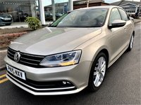 2015 VOLKSWAGEN JETTA 2.0 GT TDI BLUEMOTION TECHNOLOGY 4d 148 BHP £12495.00