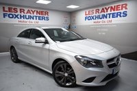 USED 2015 65 MERCEDES-BENZ CLA 2.1 CLA 200 D SPORT 4d 134 BHP Bluetooth, Cruise control, Front and rear park sensors, Half leather, cheap tax