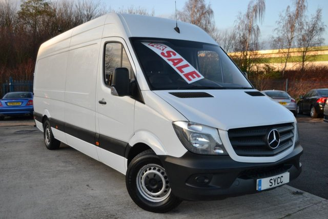 USED 2016 16 MERCEDES-BENZ SPRINTER 2.1 313 CDI LWB 5d 129 BHP LWB HIGH ROOF BALANCE OF MERCEDES WARRANTY UNTIL JULY 2019 ~ 1 COMPANY OWNER
