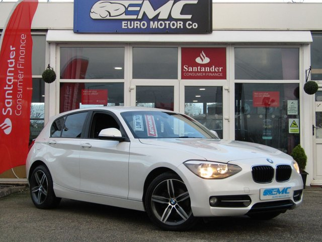 2014 64 BMW 1 SERIES 2.0 116D SPORT 5d AUTO 114 BHP