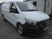USED 2015 15 MERCEDES-BENZ VITO 111 CDI LWB 114 BHP, DIRECT FROM MERCEDES-BENZ