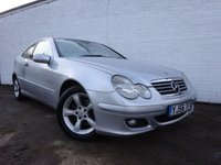 USED 2006 56 MERCEDES-BENZ C CLASS 2.1 C220 CDI SE SPORTS 3d AUTO 148 BHP