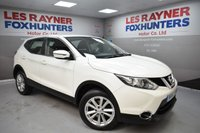 USED 2015 15 NISSAN QASHQAI 1.5 DCI ACENTA SMART VISION 5d 108 BHP Free tax, Cruise control, Bluetooth, Front and rear park sensors