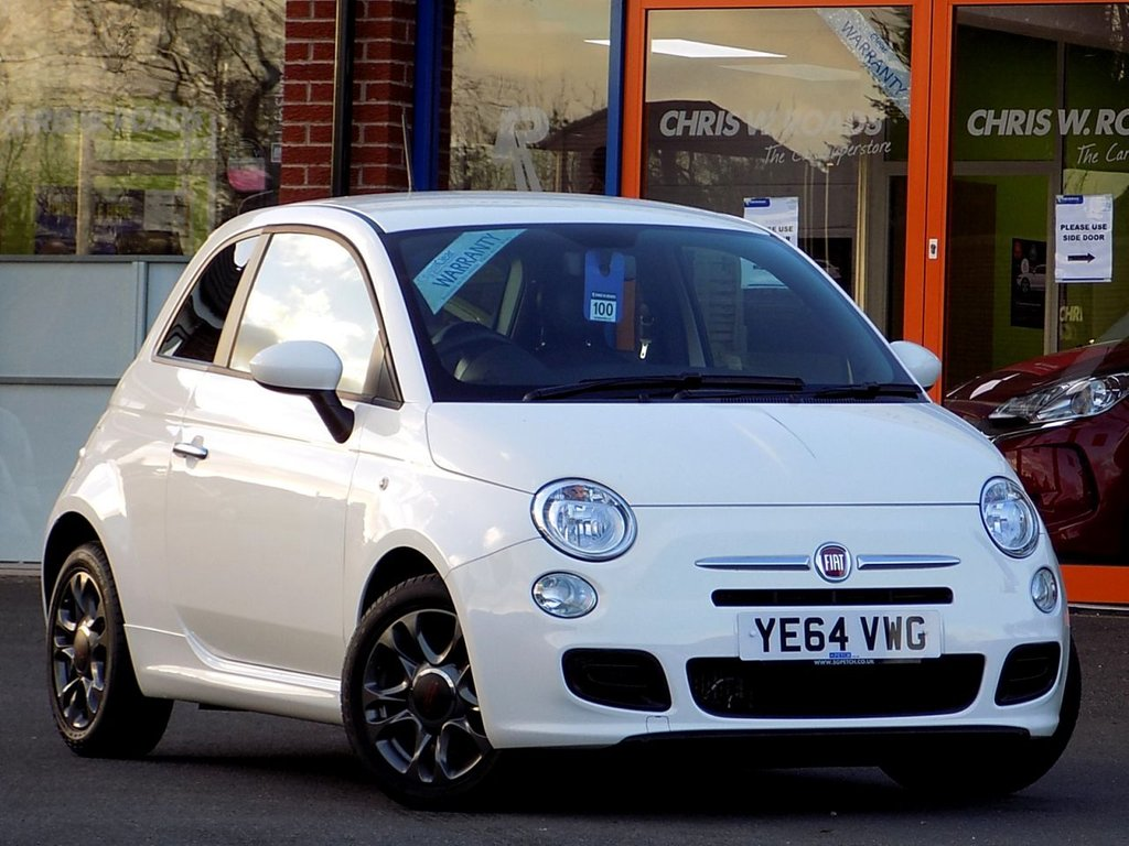 USED 2014 64 FIAT 500 0.9 Twinair S 3dr  ** Bluetooth + Auto Air Con **