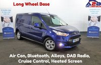 2015 FORD TRANSIT CONNECT 1.6 240 LIMITED  115 BHP, Long Wheel Base, 35822 Miles, Air Con, Alloys, DAB Radio, Cruise Control, Bluetooth and much more.... £11480.00