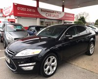 2011 FORD MONDEO 2.0 TITANIUM X TDCI 5d 161 BHP AUTOMATIC ONLY 63,000 MILES FSH £6495.00