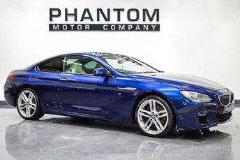2012 BMW 6 SERIES 3.0 640D M SPORT 2d 309 BHP £16990.00
