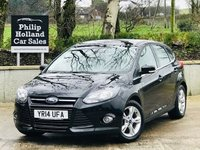 2014 FORD FOCUS 1.6 ZETEC TDCI 5d 113 BHP £SOLD