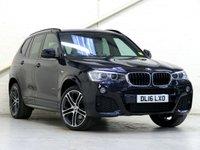 2016 BMW X3 2.0 xDrive20D M Sport PLUS 5d Auto 188 bhp £25265.00