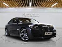 USED 2014 14 BMW 7 SERIES 3.0 730D M SPORT 4d AUTO 255 BHP + Sat/Nav, Leather Interior, Blueto