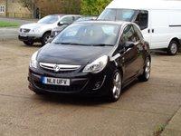 2011 VAUXHALL CORSA 1.4 SRI 3d 98 BHP £4250.00