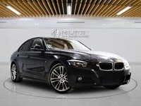 USED 2015 65 BMW 3 SERIES 2.0 320D M SPORT 4d AUTO 181 BHP +  SAT NAV + AIR CON + LEATHER SEATS