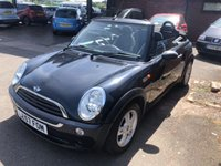 USED 2008 57 MINI CONVERTIBLE 1.6 ONE 2d 89 BHP CABRIOLET CONVERTIBLE 2 OWNERS ONLY 70500 MILES