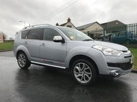 2009 CITROEN C-CROSSER 2.2 HDI EXCLUSIVE 7 SEATER 4X4 LOW MILES TRY FIND A CLEANER EXAMPLE  £6995.00