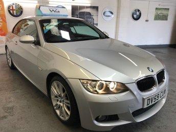 2009 BMW 3 SERIES 2.0 320D M SPORT 2d AUTO 175 BHP CONVERTIBLE  £7990.00