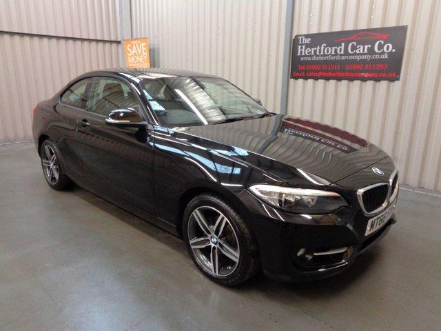 2016 66 BMW 2 SERIES 1.5 218I SPORT 2d AUTO 134 BHP