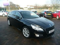 2013 PEUGEOT 508 2.0 HDI SW ACTIVE NAVIGATION VERSION 5d 140 BHP £5199.00